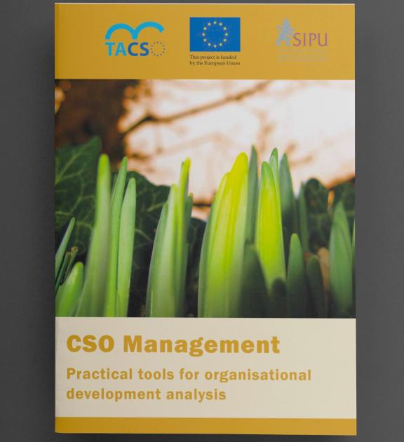 CSO Management Practical tools for organisational development analysis